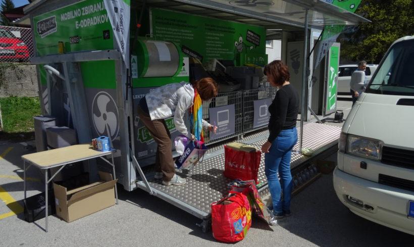 E-CIKLIRAJ: Gospodarjenje z e-odpadki