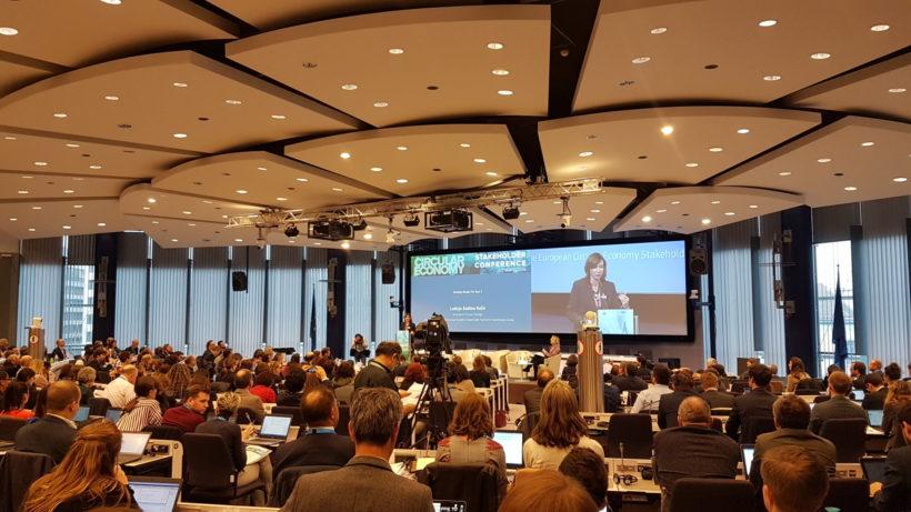 Slovenija močno zastopana na Evropski konferenci za krožno gospodarstvo