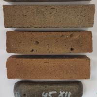 Sinteza in karakterizacija alkalijsko aktiviranih pen na osnovi odpadnih materialov