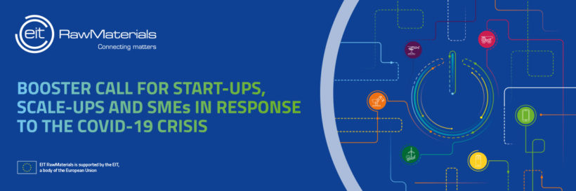 Booster Call for start-ups, scale-ups and SMEs in response to the COVID-19 crisis