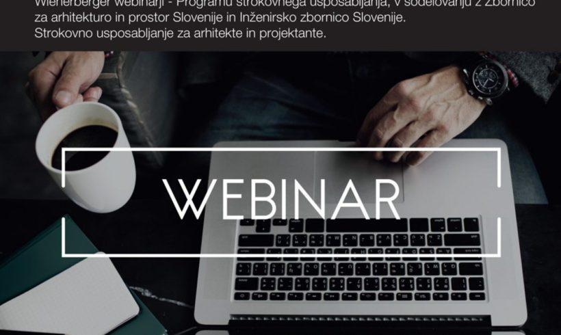 Vabilo na strokovne webinarje: Kako projektirati in graditi po sistemu sNES