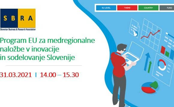 Spletni seminar: Program EU za medregionalne naložbe v inovacije in sodelovanje Slovenije