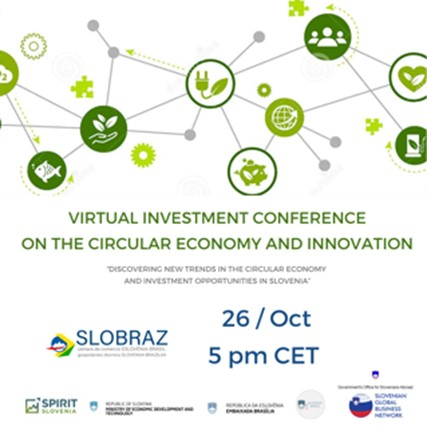 VIRTUAL INVESTMENT CONFERENCE ON THE CIRCULAR ECONOMY AND INNOVATION
